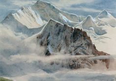 Edward Theodore Compton - View of the Jungfrau