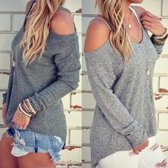 Loose O-neck Off Shoulder Sweater (scheduled via http://www.tailwindapp.com?utm_source=pinterest&utm_medium=twpin)