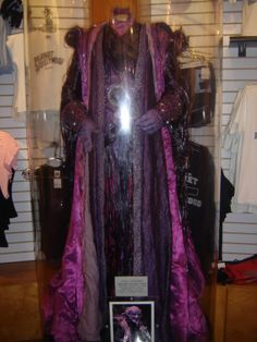 Ivan Ooze Robes Costume Designed By Joseph Porro for Mighty Morphin Power Rangers:The Movie(1995)