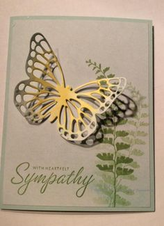 http://www.splitcoaststampers.com/gallery/photo/2593408? butterfly Basics Soft Sky, Daffodil Delight, Wild Wasabi