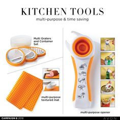 Handy kitchen tools too Kitchen Tools, Lady, Household, Container, Texture, Campaign, Canada, Avon Products, Baking