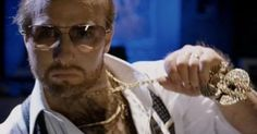 Tropic Thunder (2008) The Cameo: Tom Cruise's appearance as overweight, balding, bad-dancing studio exec Les Grossman was so shrouded in secrecy that Internet sites publishing leaked photos were handed 'cease or desist' orders.