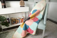 Floret Quilt by Melanie Tuazon Quilter's Cotton from Make It Sew Projects for Cloud9 Fabrics