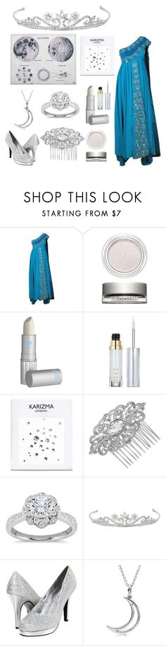 """Fair: Silver Lining"" by pandashipper1227 ❤ liked on Polyvore featuring Clarins, Lipstick Queen, Urban Decay, Jon Richard, Zac Posen, Touch Ups and Allurez"