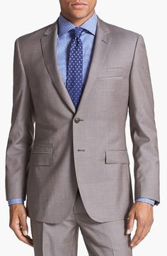 English Laundry Trim Fit Wool Suit   Nordstrom