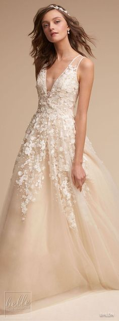 Wedding Dress by BHLDN #weddingdress