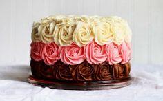 Rose cake