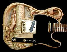 Guitars 101 - Guitar Deals, Tips about buying guitars. How to Learn to Play the Guitar Guitar Painting, Guitar Art, Music Guitar, Cool Guitar, Small Guitar, Telecaster Guitar, Fender Guitars, Bass Guitars, Custom Electric Guitars