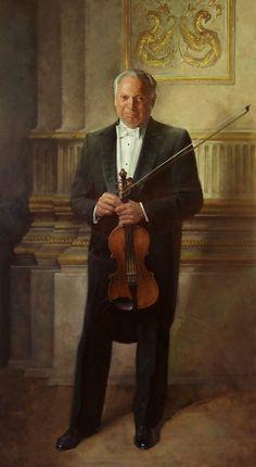 portrait by John Howard Sanden