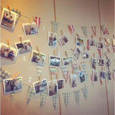 "@rinatyyy128's photo: ""2015.10.31結婚式会場 手作りの#ガーランド に#ウェディングフォト ❤️ #自己満アップ開始します  #許してください  #結婚式#結婚#ウエディング#ウェディング#ウェディングドレス#wedding#花嫁#プレ花嫁#会場 #ニューライスウェディング#新米夫婦"""