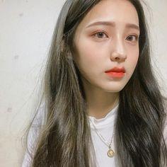 Natural Fig Makeup by Hyojin - Korean Makeup Beauty 101, Beauty Hacks, Hair Beauty, Ulzzang Girl Selca, Ulzzang Makeup, Korean Makeup Tutorials, About Hair, Girl Face, Cute Girls