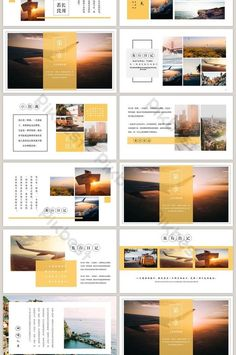 travel memory travel album travel plan ppt template is part of health-fitness - health-fitness Ppt Design, Powerpoint Design Templates, Presentation Design Template, Booklet Design, Presentation Layout, Slide Design, Design Logo, Design Poster, Layout Template
