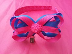 Layered bow alice band ♥ #hairaccessories