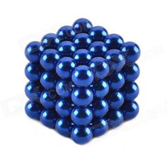 216PCs 3mm 5mm Magic Strong Fluorescent Buck Ball Creative Magnet Fun For Gift