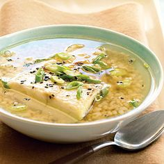 Green Tea Soup with Black Cod Cod Recipes, Seafood Recipes, Fish Recipes, Healthy Recipes, Black Cod, Sustainable Seafood, Green Tea Benefits, Weeknight Meals, Recipes