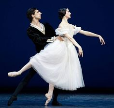 Isabelle Ciaravola and Ulvi Azizovin in Giselle at the Lincoln Center Festival 2012 photo © Mark Panzarino