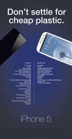 La risposta a Samsung da parte degli utenti Apple!