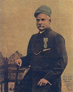 Indian Painter: Raja Ravi Varma [Self-Portrait]