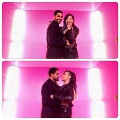 """Wilmer Valderrama In Demi Lovato's """"Really Don't Care"""" Music Video"""