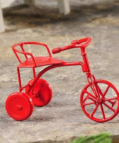 This Mini Tricycle by Giftcraft is perfect! #zulilyfinds