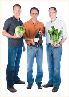 Todd, Brian and Ryan Talley pictured above.  Talley Farms is a diversified family owned farming company that grows, packs and ships a variety of vegetables