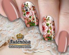 Fail Nails, Natural Nails, Floral, Perfume, Nail Art, Flowers, Beauty, Flower Nails, Chic Nails