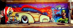 7 de agosto de 2014 - Graffitti Ave. Juan Ponce de León, Pda. 26 1/2, Santurce, Puerto Rico frente a la estación del TU Sagrado Corazón