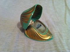 Vintage 1930's Art Nouveau Ring box by 8thandmain on Etsy