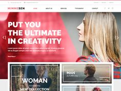 MIMMESEN – Creative Free HTML Template is an HTML template designed in the forms of HTML5, CSS3 and jQuery for enterprises.