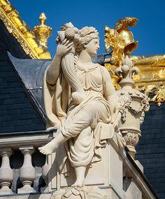 Château de Versailles, les sculptures