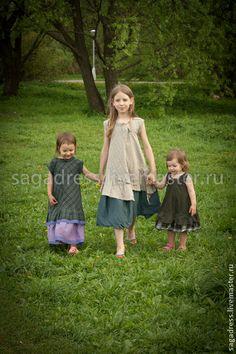 Одежда для девочек, ручной работы. Handmade. sagadress