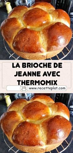 Thermomix Bread, Thermomix Desserts, Breakfast Pastries, Bread Cake, Croissants, Barbecue, Muffins, Treats, Pains