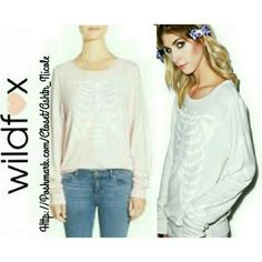 Wildfox Inside Out Sweatshirt**Coming Soon** NWT No Trades, color is ghost pink  Reasonable Offers Considered Wildfox Sweaters Crew & Scoop Necks