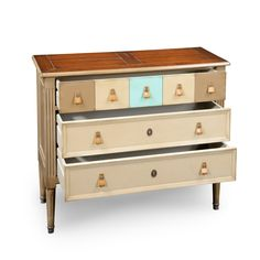 Jacob 3 drawer chest L 39 ½ x H 32 ½ x D 15 in