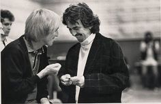 Tom Petty and George Harrison (I adore this photo)