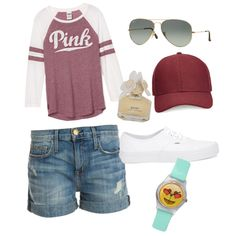A fashion look from October 2015 featuring Current/Elliott shorts, Vans sneakers и Whistles hats. Browse and shop related looks.