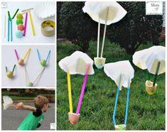 Fabriquer et faire voler des parachutes. 11 Jeux de physique amusants à essayer absolument avec vos enfants