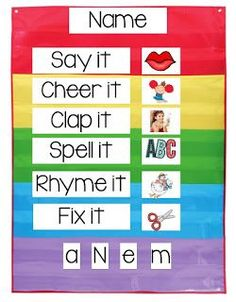 Teaching Early Learners to Write and Spell Their Name (scheduled via http://www.tailwindapp.com?utm_source=pinterest&utm_medium=twpin&utm_content=post89026601&utm_campaign=scheduler_attribution)