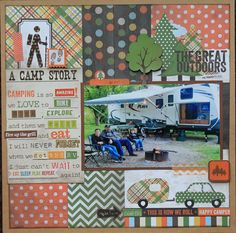 The Great Outdoors - Scrapbook.com Simple Stories - Take a Hike Collection