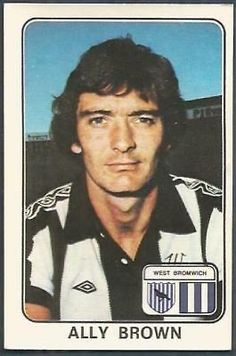 West Bromwich, Football, Baseball Cards, 1970s, Album, Brown, Soccer, Futbol, Brown Colors