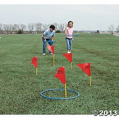 Field Day Games For Kids Discover Jumbo Ring Toss Game Activity Games, Fun Activities, Field Day Activities, Summer Camp Activities, Steam Activities, Field Day Games, Bag Toss Game, Easter Games, Ring Toss
