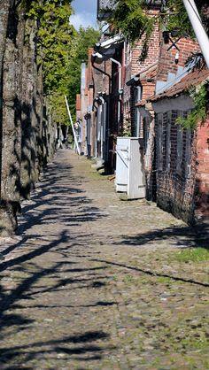 Das Dorf Møgeltønder  westlich von Tønder nahe der deutsch-dänischen Grenze. #dänemark