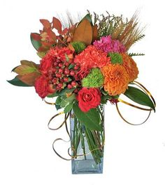 Autumn Floral Arrangement by Songs from the Garden