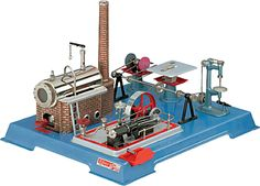Wilesco D161 Steam Engine With Accessories