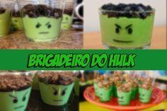 Brigadeiro do Hulk - Festa de Coração