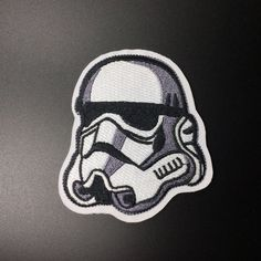 Star Wars Imperial Stormtrooper Patch patches Individuality Hat patches Embroidered Iron-On Patches sew on patches