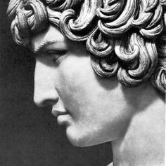 Antinous. Antinous- Emperor Hadrian's boyfriend. Hadrien had him deified after his death (voluntary sacrifice?) and ordered statues commemorating his beauty made throughout the Roman empire.