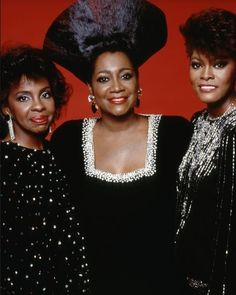 Gladys Knight, Patti Labelle & Dionne Warwick Dionne Warwick, Gladys Knight, Vintage Black Glamour, Smart Girls, Afro Punk, Black Girls Rock, Day For Night, Unique Image, Women In History