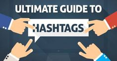 Educational Technology and Mobile Learning: A Beautiful Visual Explanation of Hashtags Marketing Services, Inbound Marketing, Online Marketing, Marketing News, Facebook Marketing, Digital Marketing, Social Media Plattformen, Social Media Marketing, How To Use Hashtags