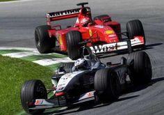 """ 14 years ago won the for McLaren. Michael Schumacher was David Coulthard, Michael Schumacher, Image"